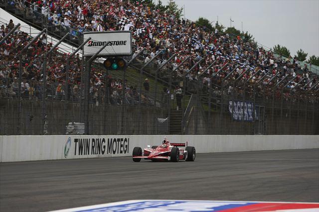【Honda】スコット・ディクソンがインディジャパン初優勝でポイントリーダーに(1)