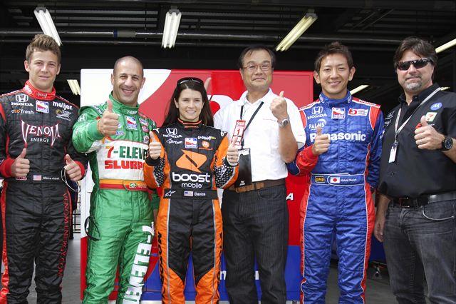 【Honda】スコット・ディクソンがインディジャパン初優勝でポイントリーダーに(3)