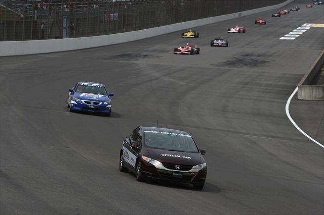 【Honda】スコット・ディクソンがインディジャパン初優勝でポイントリーダーに(4)