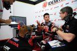 MotoGP | MotoGP:ルーキー勢トップの中上貴晶、初日から「ミシュランタイヤの理解が進んだ」