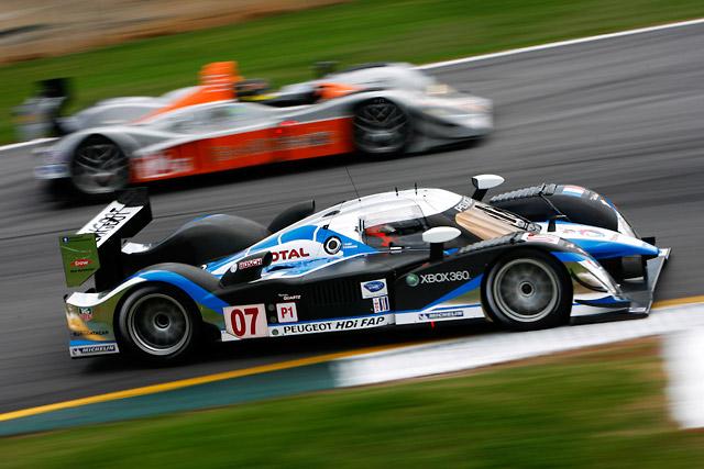 ALMSプチ・ル・マン:プジョー2台がアウディ勢を抑えフロントロウ獲得(1)