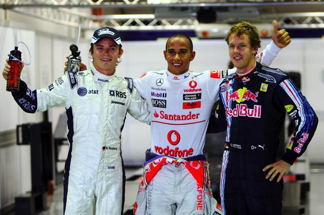 F1シンガポールGP 土曜日