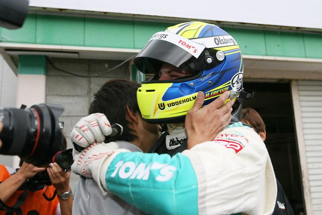 全日本F3第16戦:井口との攻防を制しエリクソンが逆転チャンピオン獲得!(1)