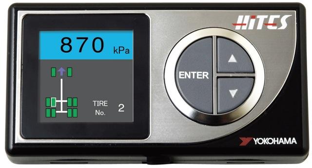 【横浜ゴム】トラック・バス用タイヤ空気圧モニタリングシステム「HiTES」をリニューアル発売(1)