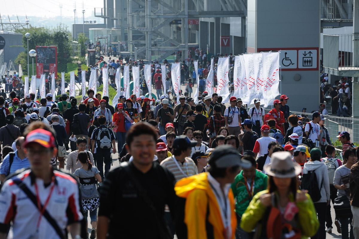 F1第15戦 日本GP 土曜日朝の風景 画像(4)