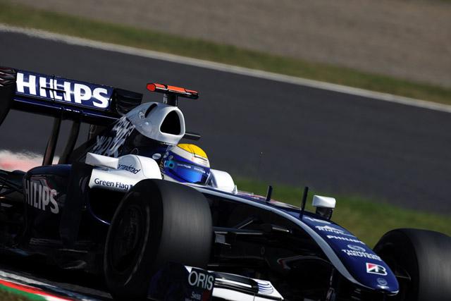 F1日本GP:トゥルーリがフリー走行3回目のトップタイムをマーク(3)
