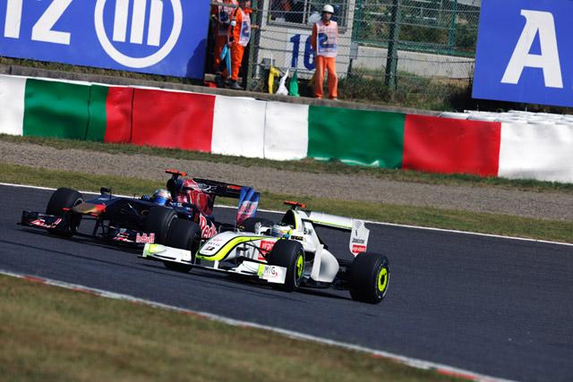 F1日本GP:トゥルーリがフリー走行3回目のトップタイムをマーク(4)