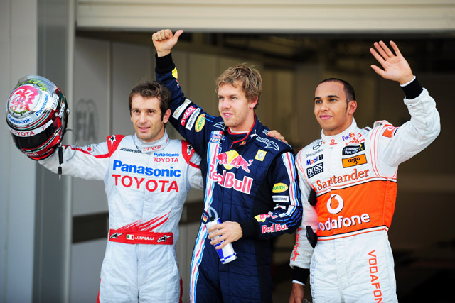 F1日本GP予選:大混乱の予選を制しベッテルが鈴鹿初ポール。トゥルーリが2番手(3)