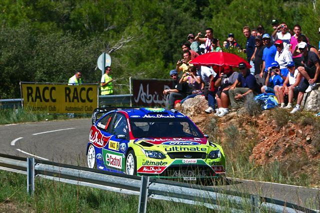 WRC第11戦スペイン デイ2:シトロエンが1-2-4-5でローブが首位に。ヒルボネン孤軍奮闘の3番手(2)