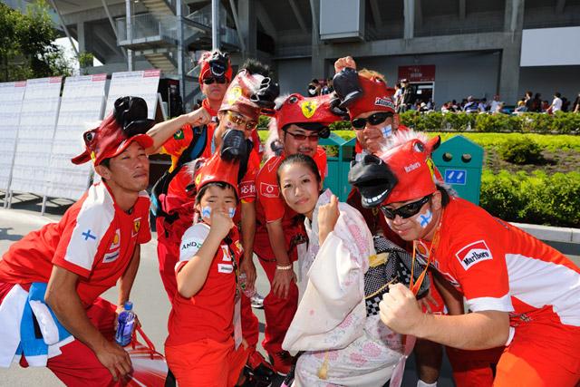 F1第15戦 日本GP 決勝日朝の風景 画像(4)