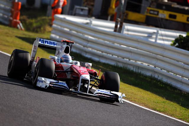 F1日本GP決勝:トヨタが日本GP初表彰台2位、優勝はベッテル(3)