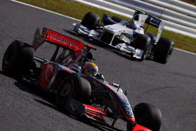 F1日本GP決勝:トヨタが日本GP初表彰台2位、優勝はベッテル(4)