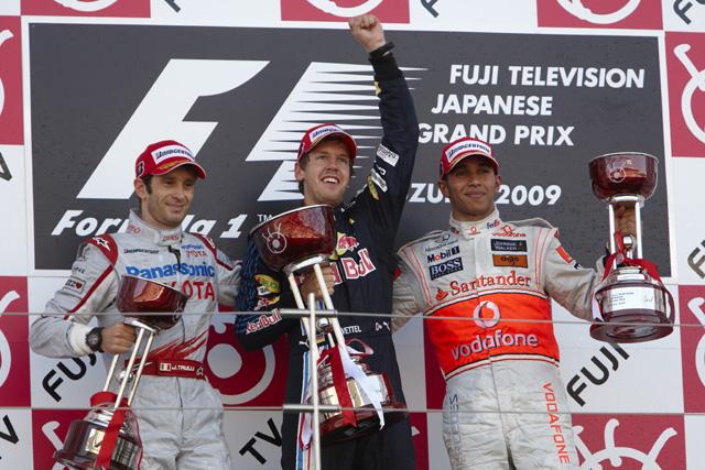 日本GP日曜ドライバーズコメント:ベッテル「フィニッシュする時、嬉しくて無線で叫んだ」(1)
