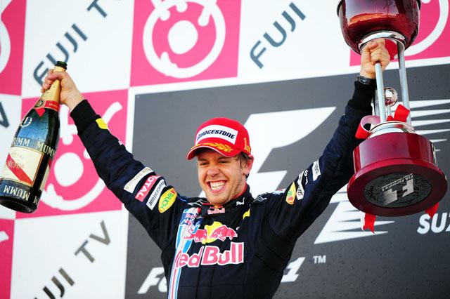 日本GP日曜ドライバーズコメント:ベッテル「フィニッシュする時、嬉しくて無線で叫んだ」(2)