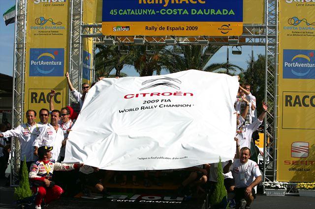 WRC第11戦デイ3:ローブ優勝、シトロエンが1-2でマニュファクチャラーズタイトルを獲得(1)