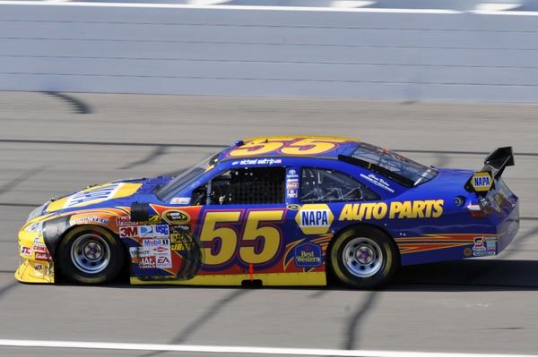 トゥルーリ、NASCARのテストに参加。転向は否定(1)