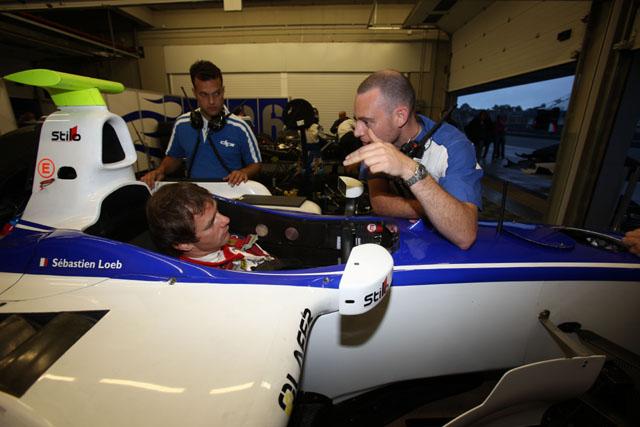 GP2テストにローブが登場。トップから約2秒落ちのタイム(4)