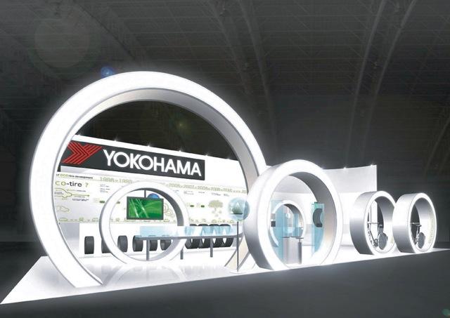 【横浜ゴム】エコタイヤ研究所を「第41回東京モーターショー」に出展(1)