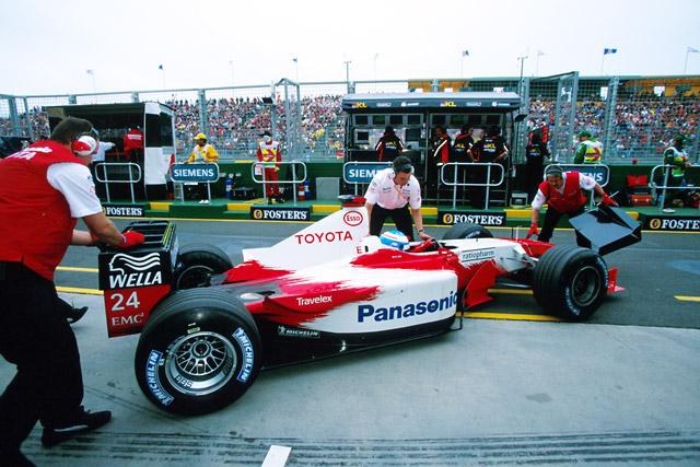 2002年オーストラリアGP ミカ・サロ