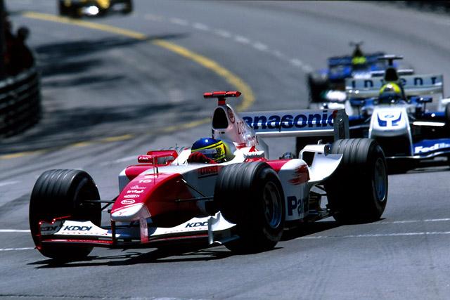 2004年モナコGP クリスチアーノ・ダ・マッタ