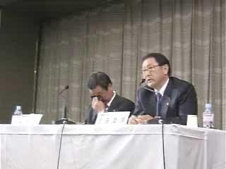 トヨタF1撤退記者会見<動画7:他のスポーツ活動への影響>(1)
