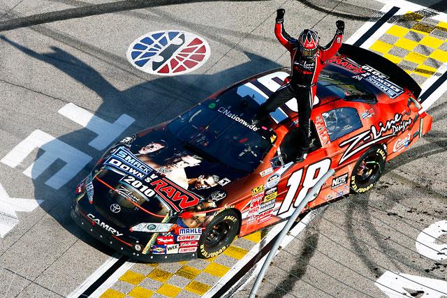 【トヨタモータースポーツニュース】NASCAR NATIONWIDE SERIES テキサス カイル・ブッシュが圧勝で2日連続勝利!(1)
