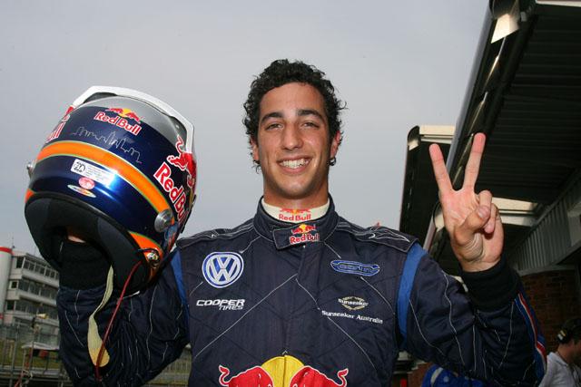 レッドブル、若手専用テストに英F3チャンピオンのリチャルドを起用(1)