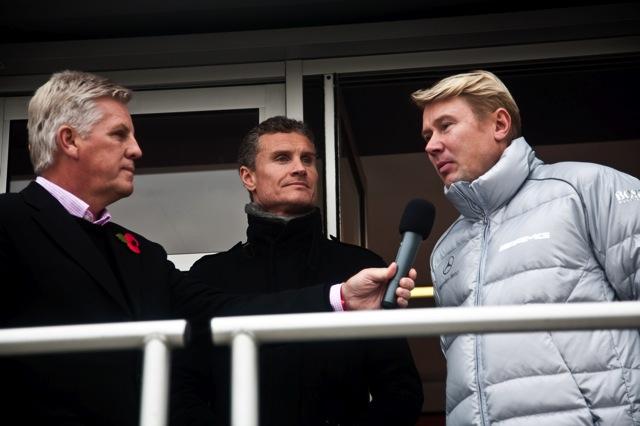 デイビッドソンがブラウンGPをドライブ!? メルセデスが英国でイベントを開催(4)