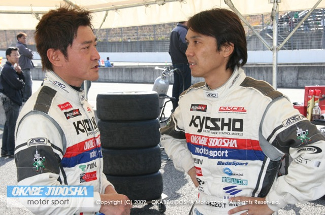 【Kyoshoメーカーズ岡部自動車RX-7】スーパー耐久シリーズ2009 第8戦(3)