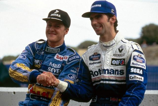 ヒル、シューマッハーの復帰を支持。「2006年の引退はフェラーリに強いられたもの」(1)