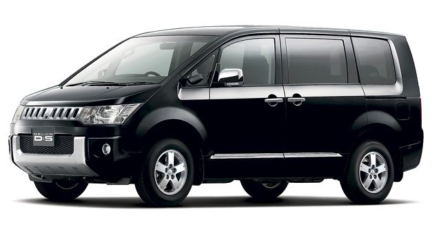 【三菱自動車】ミニバン『デリカD:5』の2WD車をマイナーチェンジ