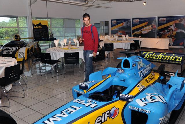 F1ファクトリー探訪:ルノー