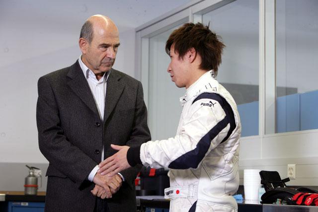 新生BMWザウバーがチームの公式サイトをオープン(1)
