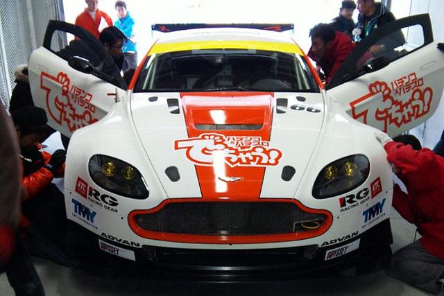 吉本大樹、triple a Vantage GT2のもうひとりのドライバーに決定(1)