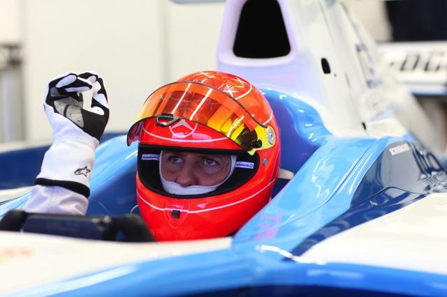 ミハエル・シューマッハー、ヘレスでGP2ドライブを開始(5)