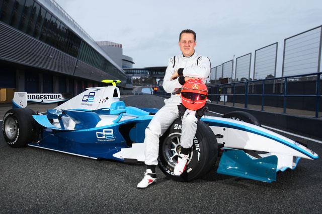 ミハエル・シューマッハー、ヘレスでGP2ドライブを開始(2)