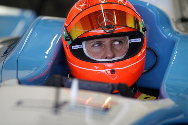 ミハエル・シューマッハー、ヘレスでGP2ドライブを開始(1)