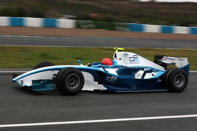 ミハエル・シューマッハー、ヘレスでGP2ドライブを開始(4)