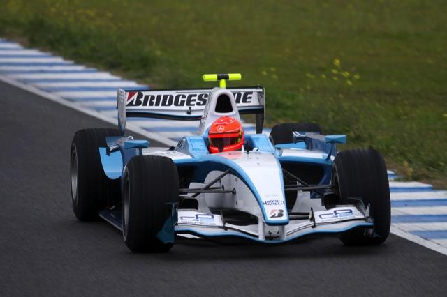 ミハエル・シューマッハー、ヘレスでGP2ドライブを開始(9)