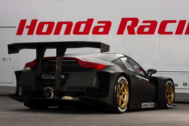 【Honda】SUPER GTシリーズGT500クラス参戦車両「HSV-010 GT」を発表(4)