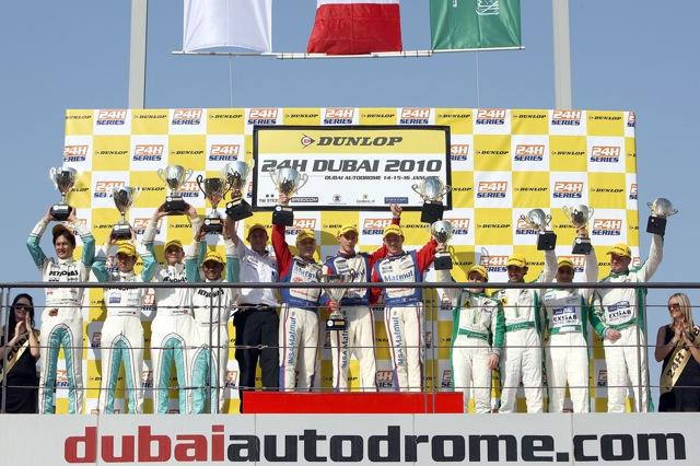 【ポルシェジャパン】ドバイ24時間レースで3連勝を飾る(1)