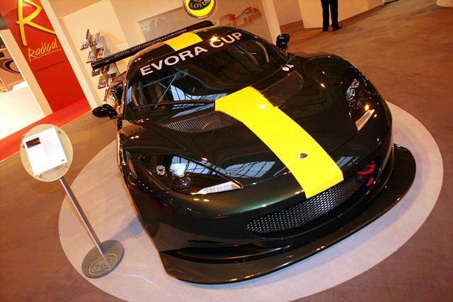 ロータス・エヴォーラのワンメイクレース、エヴォーラカップ仕様のマシンを発表(1)