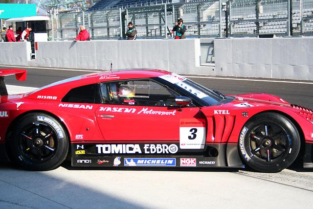スーパーGT鈴鹿テスト:午前はトレルイエ駆る3号車GT-Rがトップタイム(1)