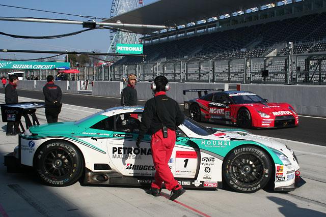 スーパーGT鈴鹿テスト:午前はトレルイエ駆る3号車GT-Rがトップタイム(3)