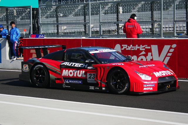 スーパーGT鈴鹿テスト:午前はトレルイエ駆る3号車GT-Rがトップタイム(5)
