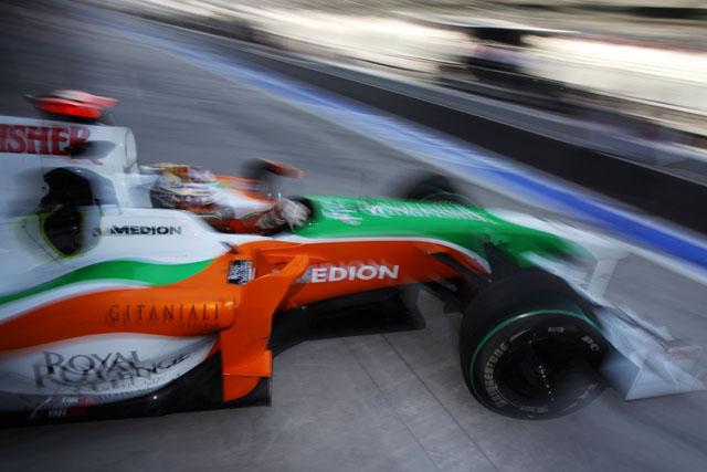 フォース・インディア、バレンシアテストは欠席。ヘレスで新車をデビュー(1)