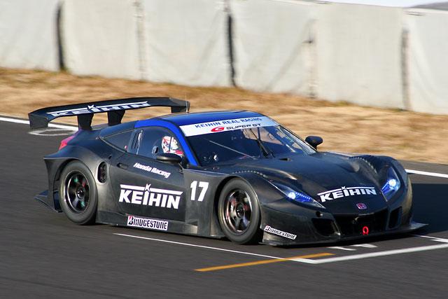 スーパーGT鈴鹿テスト:午前は18号車童夢HSV-010 GTがトップタイムをマーク(3)