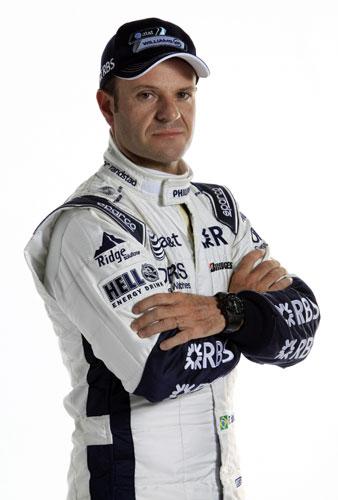 ウイリアムズ、バリチェロのレーシングスーツ姿を公開(1)