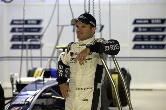 ウイリアムズ、バリチェロのレーシングスーツ姿を公開(2)