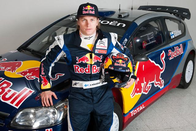 レッドブル、ライコネンのC4 WRCのカラーリングとスーツ姿を公開(1)